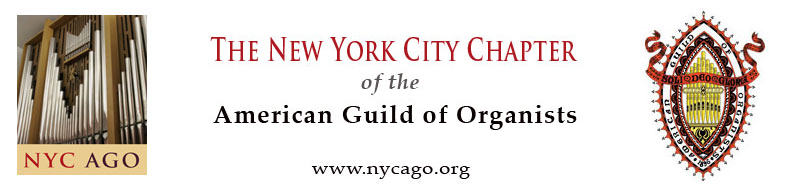 NYC Chapter of the American Guild of Organists