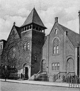 Episcopal Church of the Atonement - Brooklyn, N.Y. (1920s Postcard)
