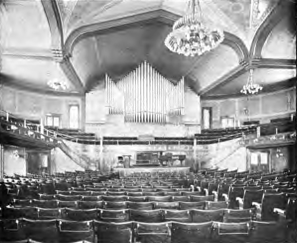 J.H. & C.S. Odell Organ, Op. 181 (1895) in The Baptist Temple - Brooklyn, N.Y.