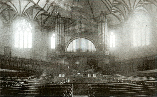 J.H. & C.S. Odell Organ, Op. 181 (1881) in First Baptist Church in Pierrepont Street - Brooklyn, N.Y. (photo: Organ Historical Society)