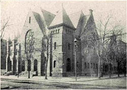 Brooklyn Tabernacle Presbyterian Church (1873-89) in Brooklyn, NY