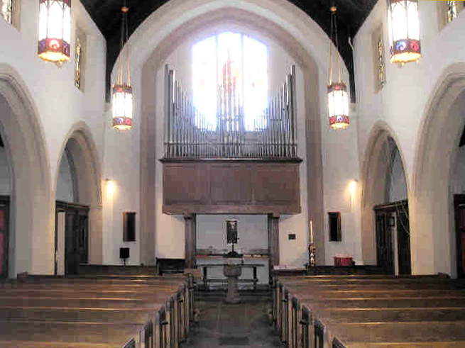 Estey Organ, Op. 3255 (1959) at Christ Church, Bay Ridge - Brooklyn, N.Y. (Photo: Estey Organ Company)
