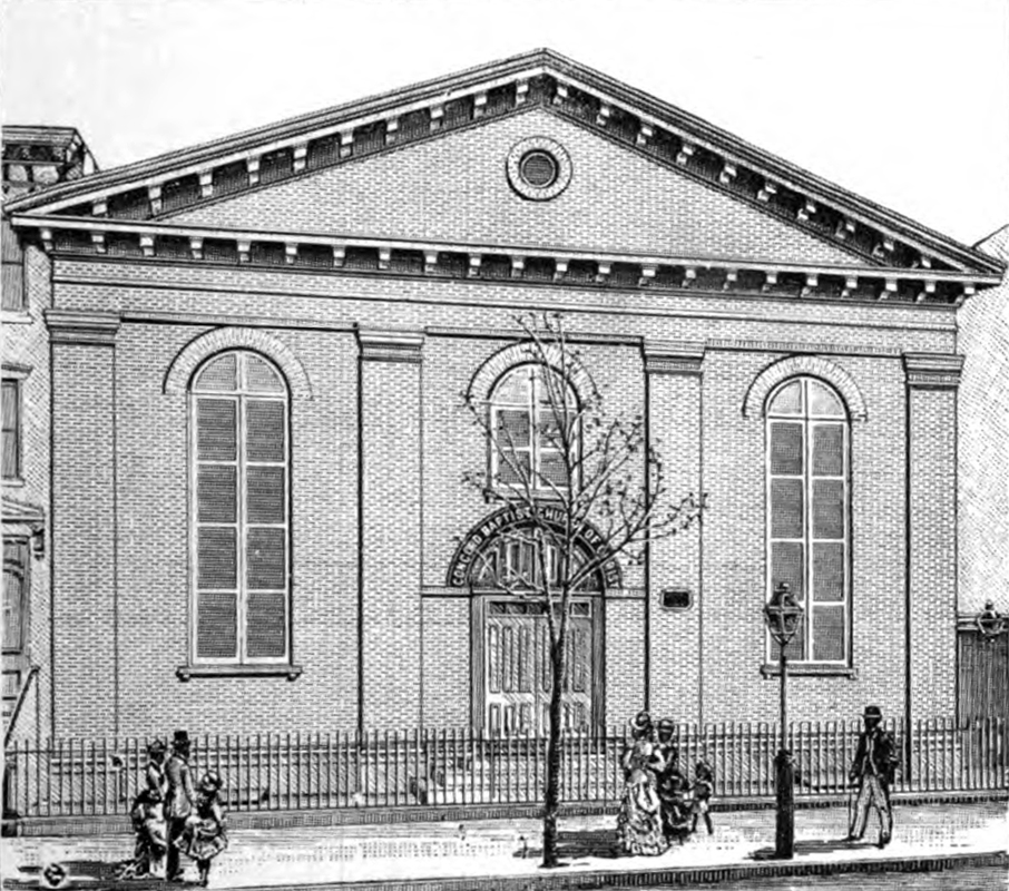 Concord Baptist Church of Christ on Duffield Street- Brooklyn, N.Y.