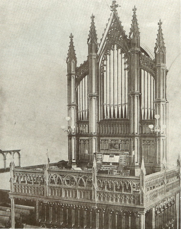 Hilborne L. Roosevelt Organ, Op. 104 (1882) in First Presbyterian Church - Brooklyn, NY