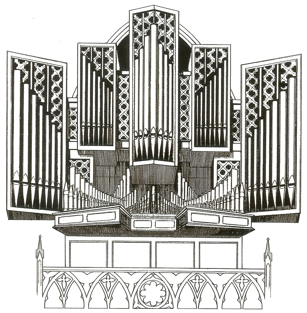 Van Zoeren Organ (1994) in First Presbyterian Church - Brooklyn, NY