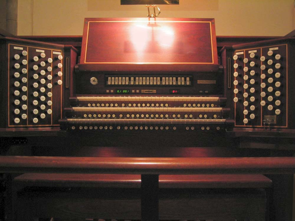 Austin Organ, Op. 2780 (2001) at Grace Church - Brooklyn Heights, New York (Photo: Steven E. Lawson)