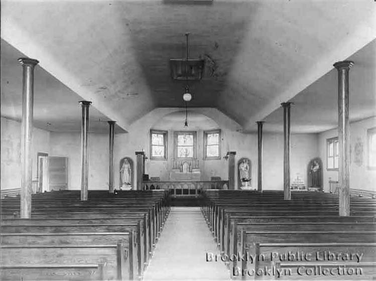 Original Roman Catholic Church of the Holy Innocents - Brooklyn, N.Y. (Brooklyn Daily Eagle)