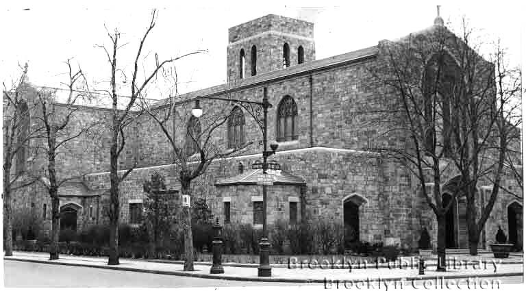 Roman Catholic Church of the Holy Innocents - Brooklyn, N.Y. (Brooklyn Daily Eagle, 1953)