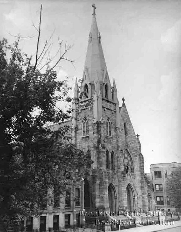 Our Lady of Good Counsel Catholic Church (c.1960) - Brooklyn, N.Y. (Brooklyn Public Library)