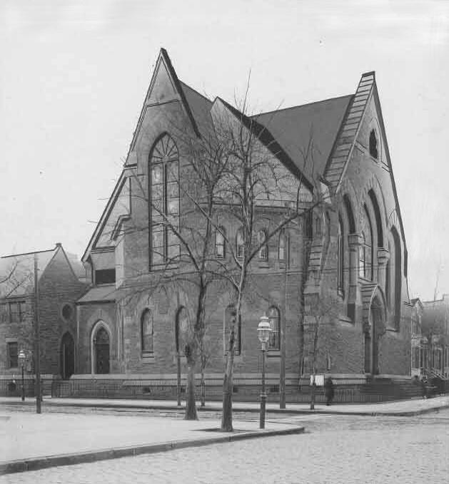 Puritan Church (Congregational) - Brooklyn, N.Y. (Brooklyn Daily Eagle, 1906)