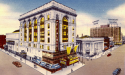RKO Albee Theatre - Brooklyn, N.Y. (photo: Cinema Treasures website)