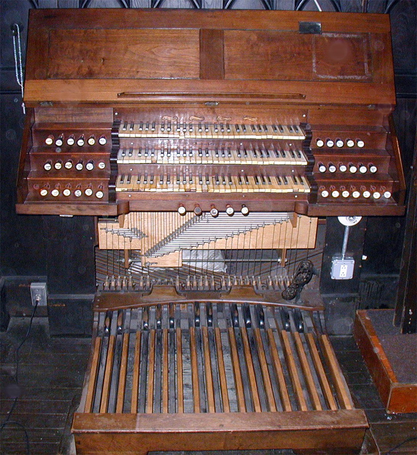 Geo. Jardine & Son organ, Op. 1019 (1876) in Sacred Heart Roman Catholic Church - Brooklyn, N.Y. (photo: David Schmauch)