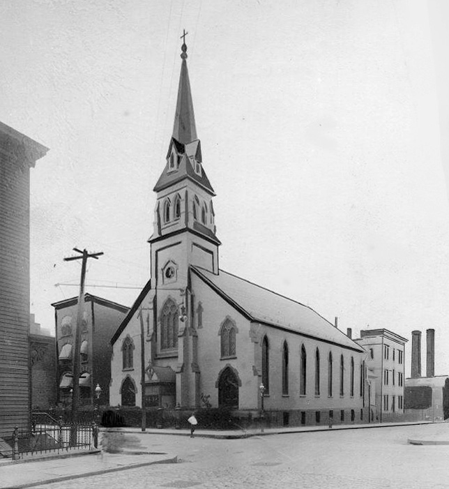 St. Ann Catholic Church - Brooklyn, N.Y. (Brooklyn Eagle, 1911)
