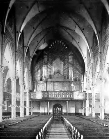 Reuben Midmer and Sons Organ (1892) in St. Anthony of Padua Catholic Church - Brooklyn, NY