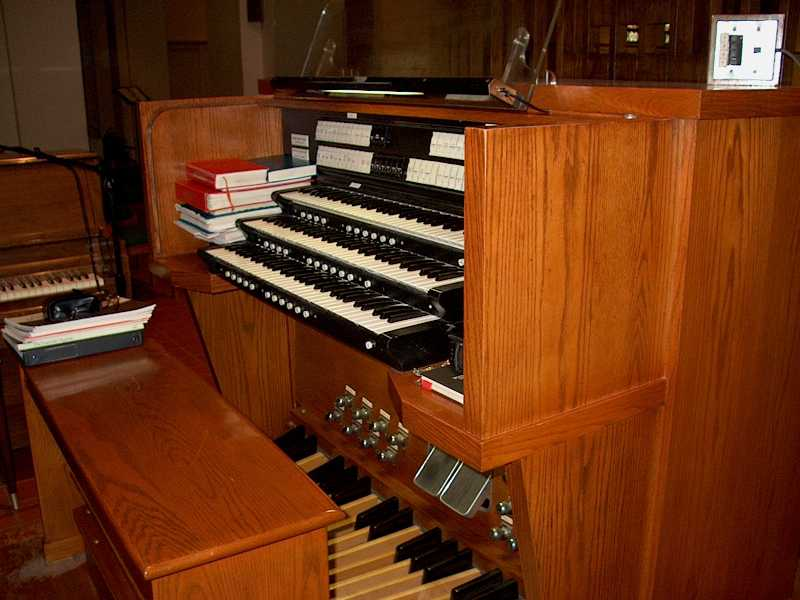 Peragallo Organ at St. Brendan's Catholic Church - Brooklyn, N.Y. (photo: Chris Berrios)