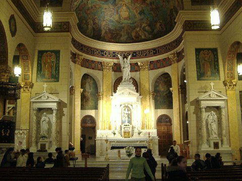 St. Michael's (German) Catholic Church - Brooklyn, N.Y. (photo: Robert Holmes)