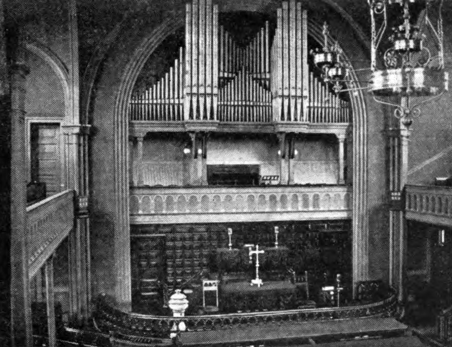 Hook & Hastings organ, Op. 1271 (1885) in St. Paul Lutheran Church - Williamsburg, Brooklyn, N.Y.