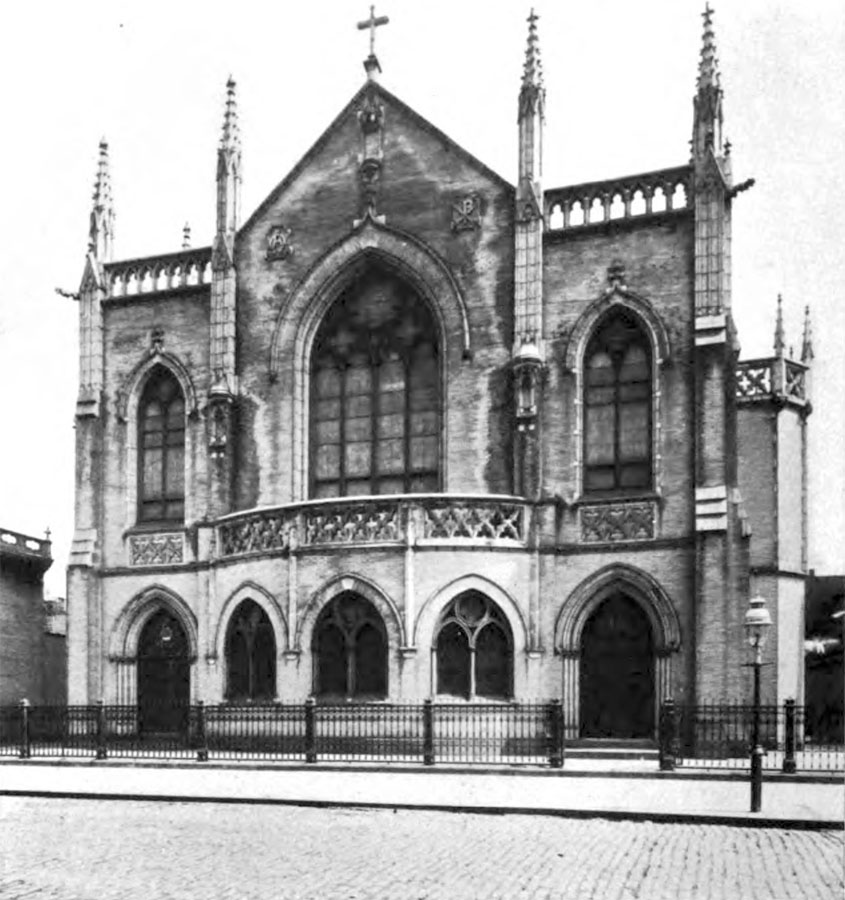 St. Peter & St. Paul Catholic Church - Brooklyn, N.Y. (photo: The Catholic Church in the USA, 1914)