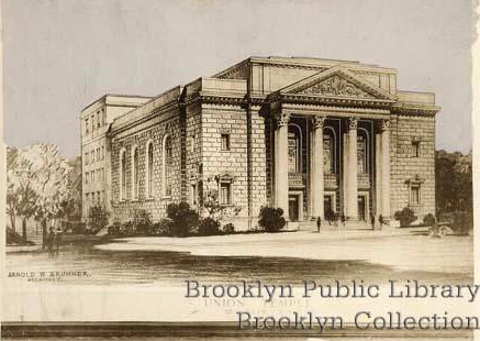 Proposed Union Temple - Brooklyn, N.Y. (Brooklyn Public LIbrary, Brooklyn Collection)