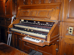 Eifert & Stoehr Organ (1912) in Caldwell AME Zion Church - Bronx, NY (photo: David Schmauch)