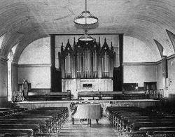 Levi U. Stuart organ (1870) in the New York Institution for the Blind - New York City