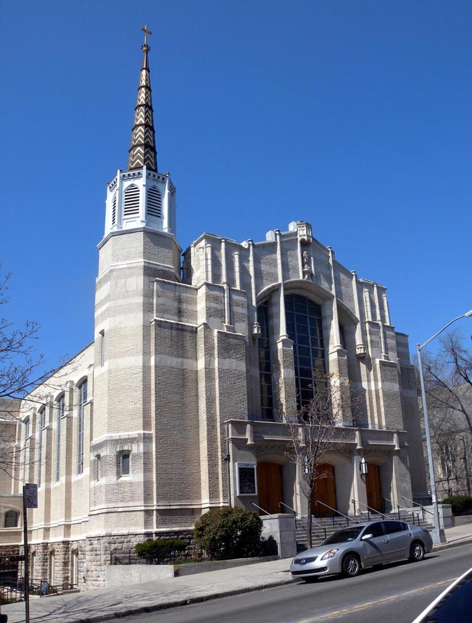 St. John Catholic Church - Kingsbridge (Bronx), NY (photo: Jim Henderson)