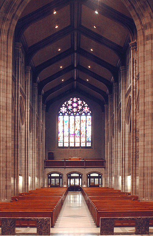 Interior of St. Nicholas of Tolentine Catholic Church - The Bronx, N.Y. (photo: David Oniffrey)