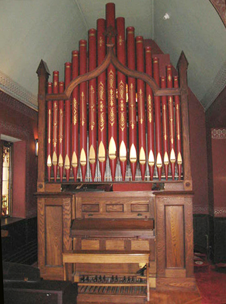 Geo. Jardine & Son Organ (1878) formerly in St. Nicholas of Tolentine Church - The Bronx, NY
