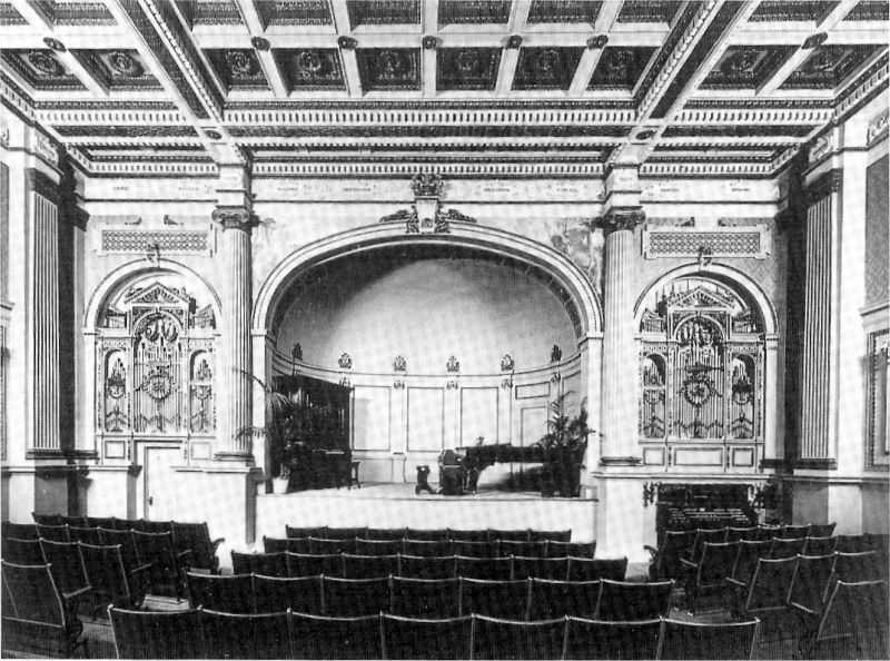 Aeolian Organ, Op. 922 (1902) in Aeolian Hall (362 Fifth Avenue) - New York City