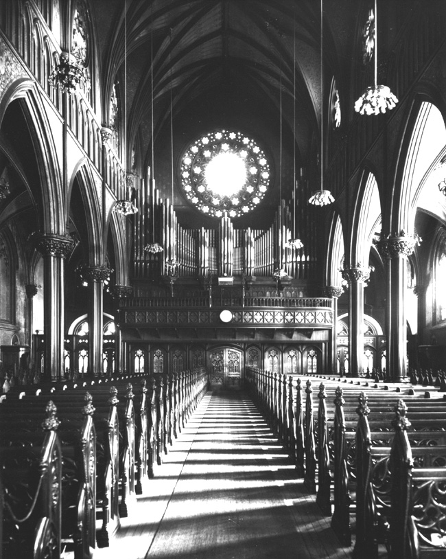 Frank Roosevelt Organ, Op. 525 (1892) in All Saints Roman Catholic Church - New York City (photo: Jim Lewis)