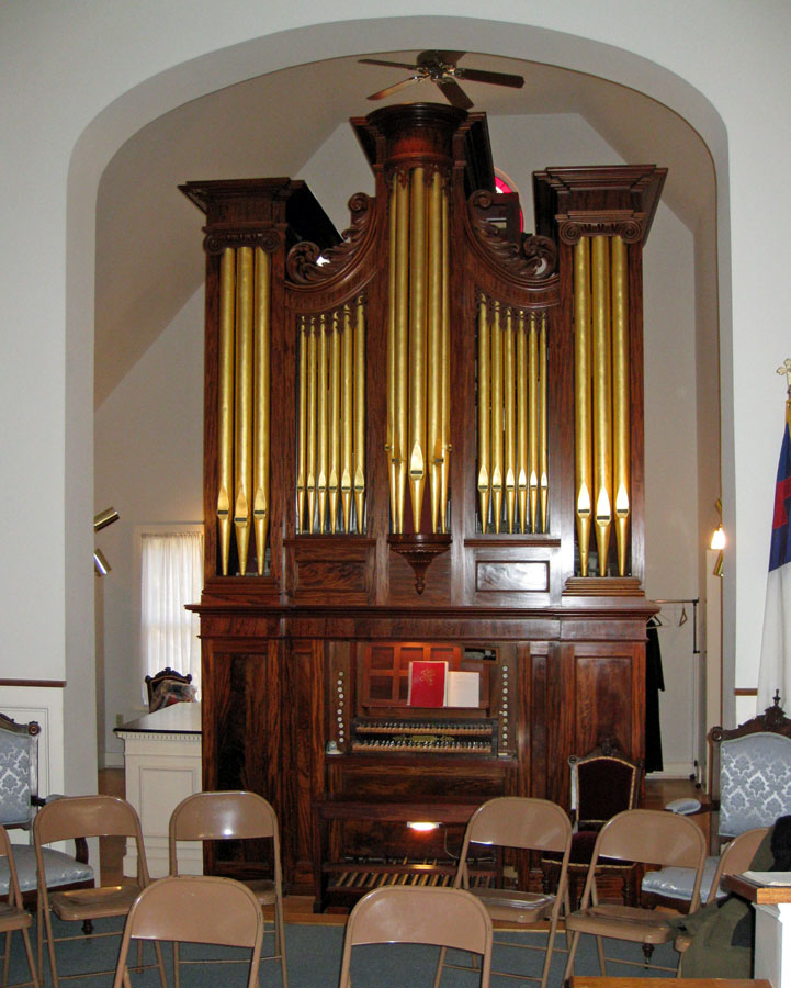 Thomas Appleton organ, Op. 17 (1827) - First Congregational Church - New York City