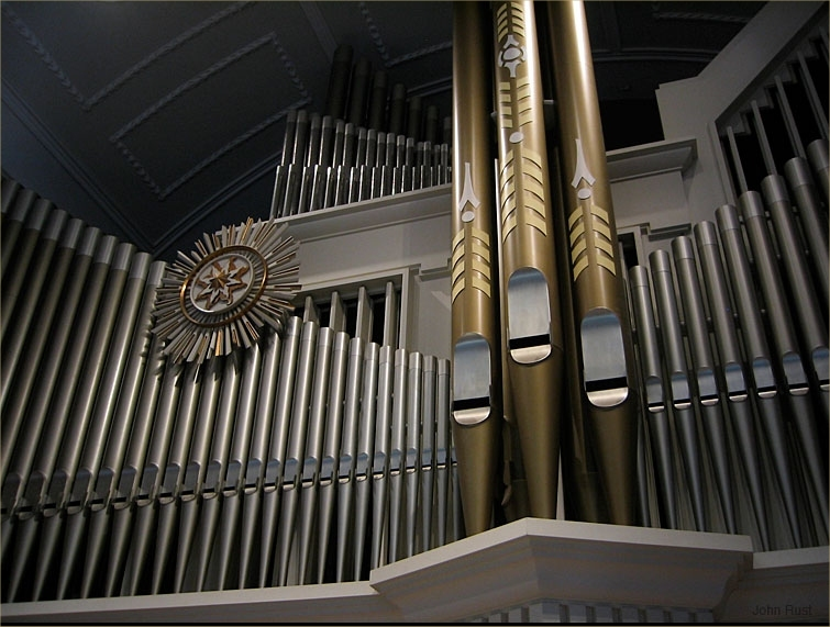 Holtkamp Organ (1989) at All Souls Unitarian Church - New York City (Photo: John Rust)