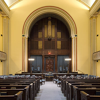 Aeolian Organ, Op. 1144 (1910, 1914) in Congregation Ansche-Chesed - New York City