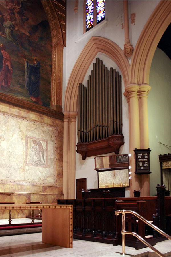 Holtkamp Organ (1967) in the Episcopal Church of the Ascension - New York City (photo: Steven E. Lawson)