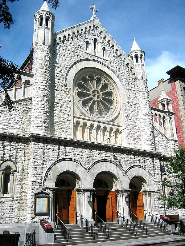 Roman Catholic Church of the Ascension - New York City (photo: Steven E. Lawson)