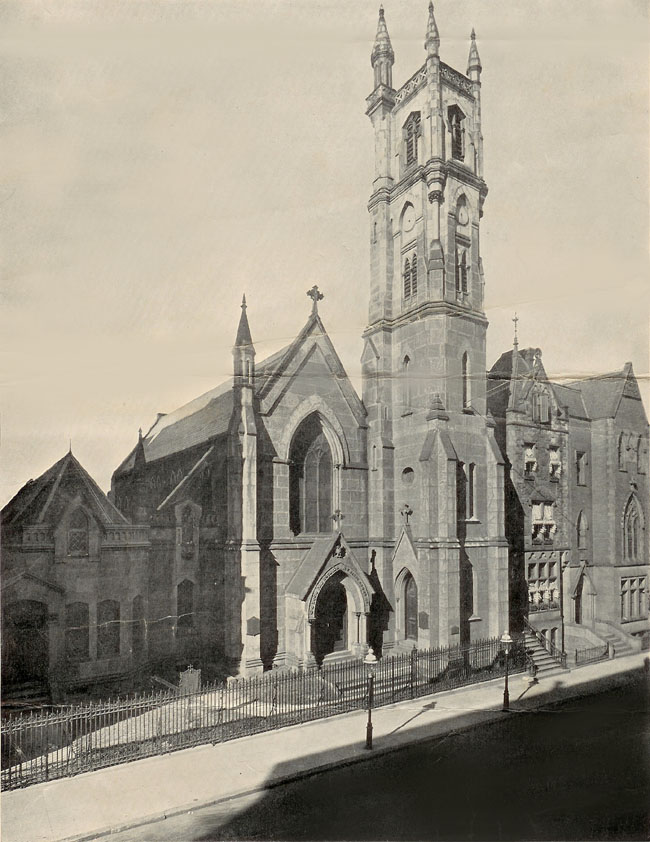Church of the Beloved Disciple - New York City (1870 leaflet cover)
