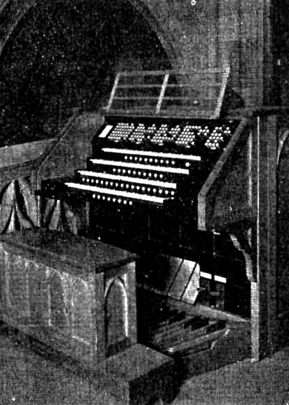 Estey Organ, Op. 2420 (1925) at Blessed Sacrament Church - New York City (Photo: Estey Organ Company)