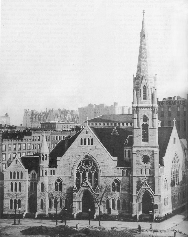 Bloomingdale Reformed Church (c.1895) - New York City
