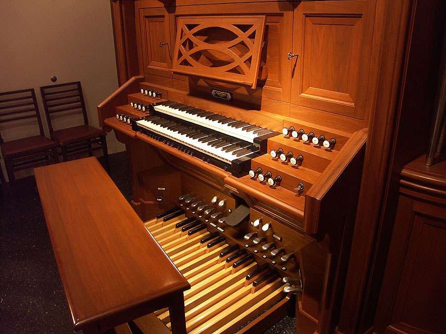 Guilbault-Thérien Organ, Op. 42 (1996) in Chapel of Brick Presbyterian Church - New York City (photo: Keith S. Toth)