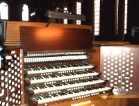 Austin Organ, Op. 2400 (1963) previously at Brick Presbyterian Church, New York City (photo: Steven E. Lawson)