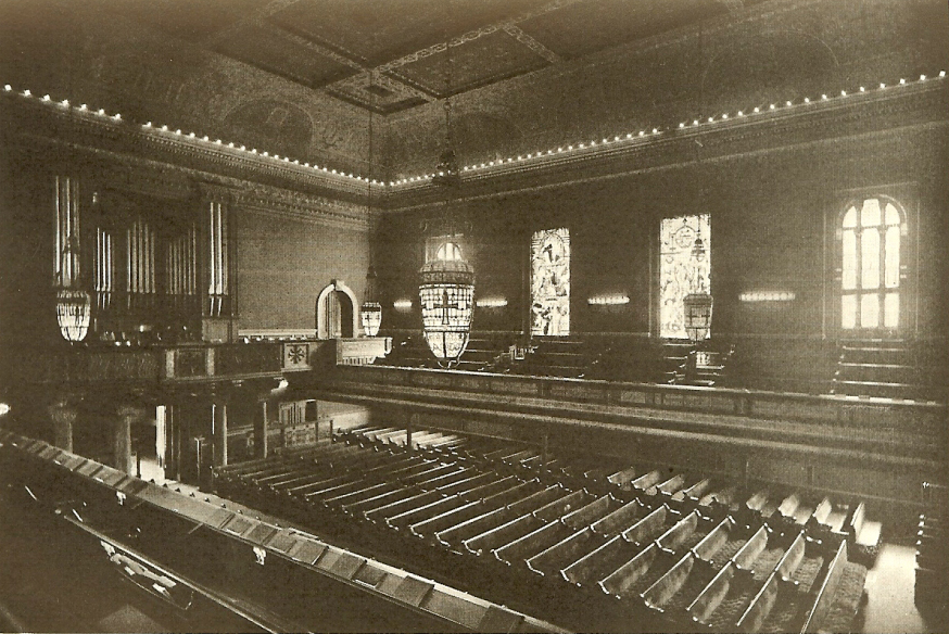 Geo. S. Hutchings Organ, Op. 428 (1898) previously at The Brick Church - New York City (photo: Brick Presbyterian Church)
