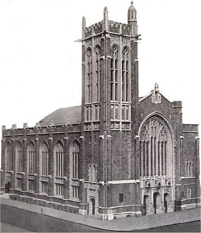 1925 photo of Broadway Presbyterian Church - New York City  (photo: Broadway Presbyterian Church)