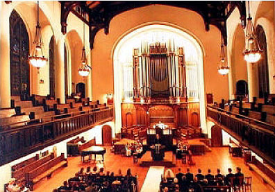 Austin Organ, Op. 2513 (1969) at the Broadway Presbyterian Church - New York City  (photo: Broadway Presbyterian Church)