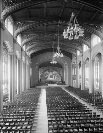 Great Hall - City College of New York (Wurts Bros., 1907)