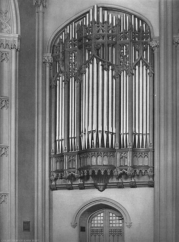 Skinner Organ, Op. 135 (1906) in the Great Hall, City College of New York - New York City