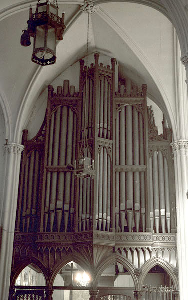 Organ case at Calvary Episcopal Church - New York City (photo: Ken Stein)