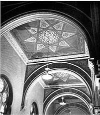 Central Synagogue (ca. 1949) - New York City (NYC Architecture Images website)