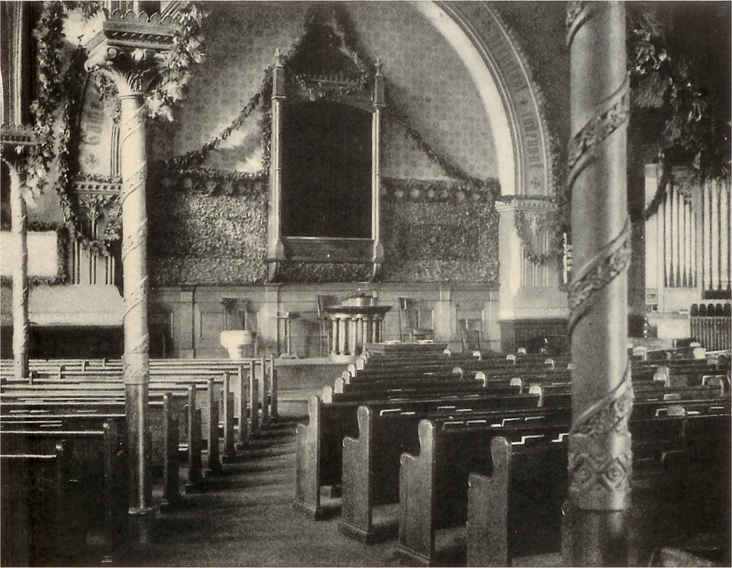 Church of the Covenant (Presbyterian) - New York City, ca.1900 (photo: Brick Presbyterian Church)