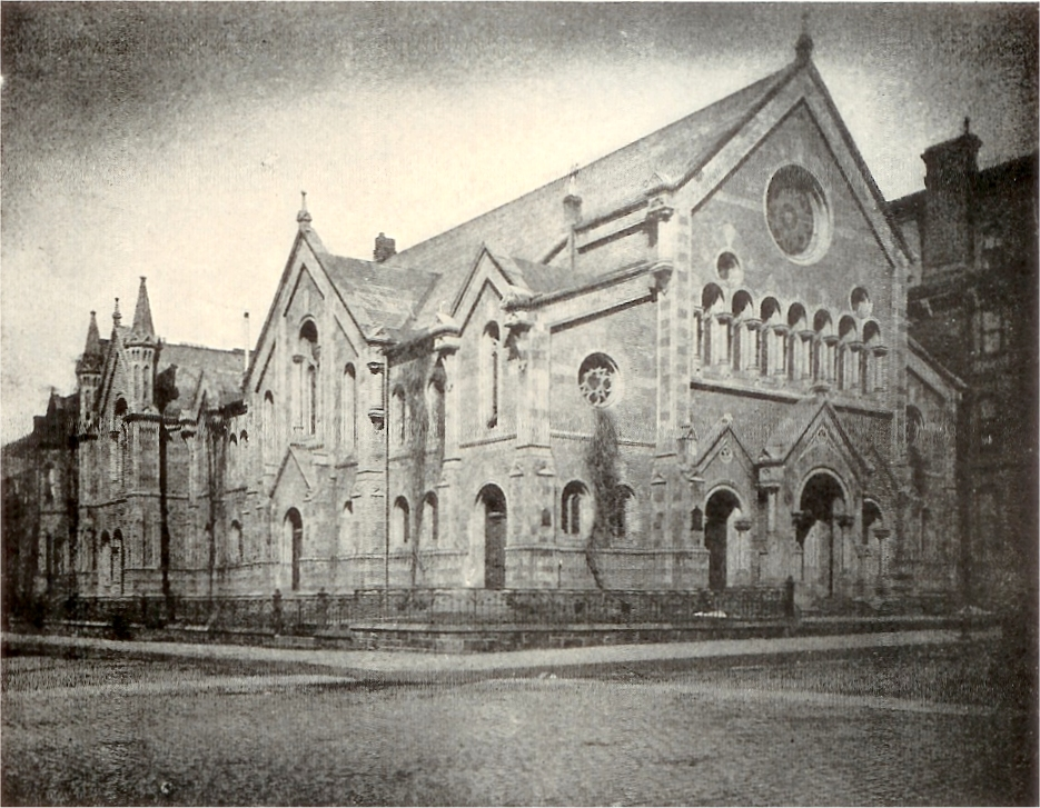 Original Church of the Covenant (Presbyterian) on Fourth Avenue at 35th Street - New York City