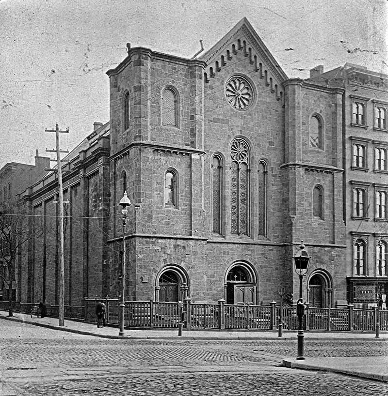 Christ Church (Episcopal) on Fifth Avenue and 35th Street - New York City (F. Mellenburg)